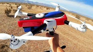 getlinkyoutube.com-XK AIRCAM X500 Large GPS Drone Flight Test Review