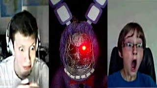 getlinkyoutube.com-Withered Bonnie went on omegle (AGAIN) - Revenge of the fallen