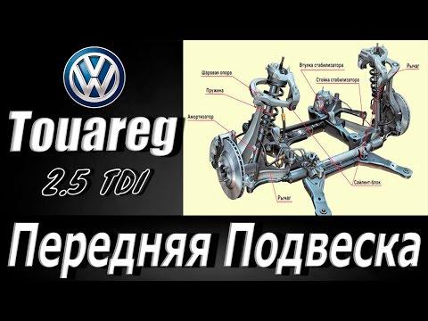 Ремонт подвески фольксваген ТУАРЕГ