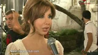 getlinkyoutube.com-Nancy Ajram - Making Of Ya Kether Rotana News