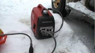 getlinkyoutube.com-Honda EU2000I Generator Extended Run Fuel Tank.