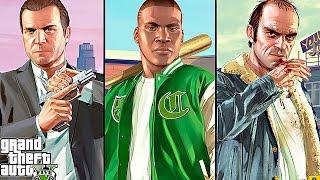 getlinkyoutube.com-Grand Theft Auto V (GTA 5) FULL MOVIE All Cutscenes - Grand Theft Auto 5 PS4