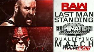 Braun Strowman Vs Kane Last Man Standing - WWE Raw Highlight 29th January 2018