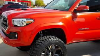 getlinkyoutube.com-The first ever 6 inch lifted BDS 2016 Tacoma