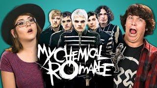 College Kids React to My Chemical Romance (MCR X)