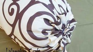 getlinkyoutube.com-Cara membuat sarung bantal guling sendiri