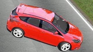 getlinkyoutube.com-Ford Focus III ST drive (Links) - Racer: free game