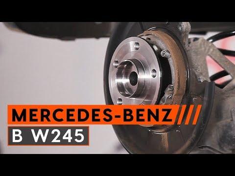 Как да сменим заден лагер на главина на MERCEDES-BENZ B W245 (ИНСТРУКЦИЯ AUTODOC)