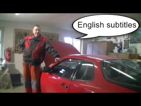 Removal and Installation of the Gearbox on the Porsche 944