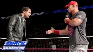 getlinkyoutube.com-The Authority interrupts a truce between John Cena and Dean Ambrose: SmackDown, Oct. 3, 2014