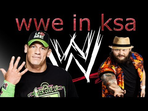 wwe in riyadh saudi arabia جون سينا vs المصارعة في الرياض عائلة وايت  John Cena vs The Wyatt Family