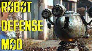 getlinkyoutube.com-ROBOT SETTLEMENT DEFENCES - Fallout 4 Mod Spotlight