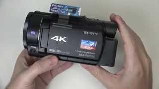 getlinkyoutube.com-Sony FDR-AX33 Review