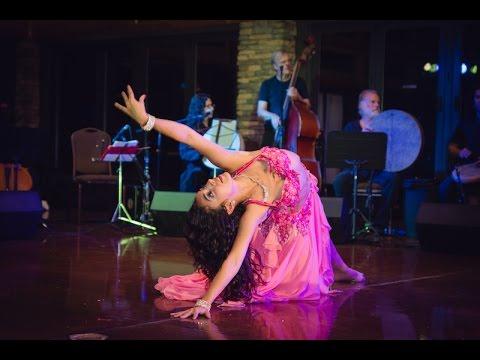 Jennifer- Improvisational Bellydance to Alf Leyla 2015 at Sadie's Raq'n Rhythms Retreat