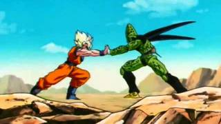 getlinkyoutube.com-Dragon Ball Z Goku vs Cell Psychosocial