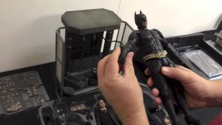 getlinkyoutube.com-Batman Deluxe Armory -- Hot Toys