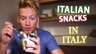 Italian Snacks Review In Italy