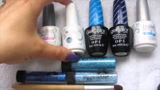 getlinkyoutube.com-6 Gel Polish Nail Art Designs-Gradient, Tie Dye & Stamping