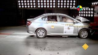 getlinkyoutube.com-Crash Test com o Honda City