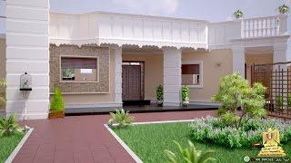تصميمات الهيثم 3D تصميم منزل من طابق واحد شكل رقم 2