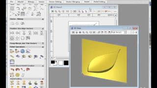 draw 3D tool path in artcam