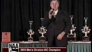 Jeff Stokes, 2003 International Auctioneer Champion