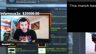 getlinkyoutube.com-Summit's $37000 in donations from Infamous3x -- (REFUNDED) w/ TS Interview