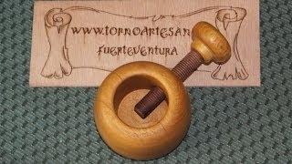 getlinkyoutube.com-#77 Roscas de madera - Wooden threads