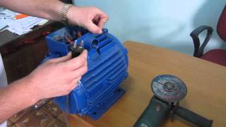 getlinkyoutube.com-Generator: permanent magnet  for wind generator or hydro. 220V 3kW 500 rpm
