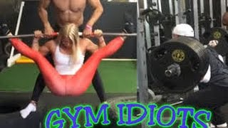 Gym Idiots - Spread Eagle Rows & Mike O'Hearn 585-Lb. Squat