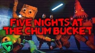 FIVE NIGHTS AT THE CHUM BUCKET: LA VENGANZA DE CALAMARDO - (Five Nights at Freddy's Fan Game)