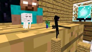 getlinkyoutube.com-Monster School: Acrobatics - Minecraft Animation