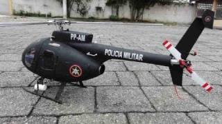 "getlinkyoutube.com-MD 500E (450 Size) ""BOPE"" (Brasil Black Ops)"