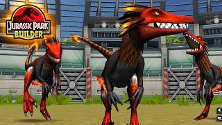 getlinkyoutube.com-Red Raptor Update?!? - Jurassic Park Builder JURASSIC | Update Special