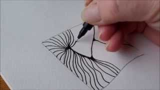 getlinkyoutube.com-How to draw tanglepattern Scena