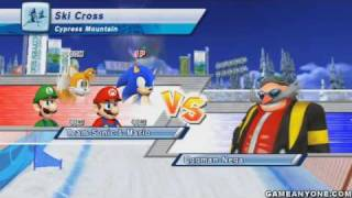 getlinkyoutube.com-Mario and Sonic at the Olympic Winter Games - [Team Festival] - Part 21 - [Day 15 2/2 - Eggman Nega]