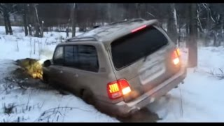 Lexus LX470 Off road in the middle of nowhere