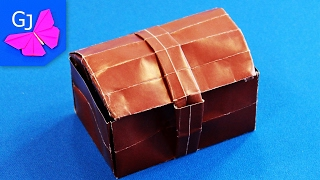 getlinkyoutube.com-Оригами сундук