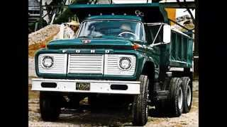 getlinkyoutube.com-Old Ford Dump Trucks