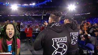 getlinkyoutube.com-WWE Smackdown 2/21/17 American Alpha vs Breezdango