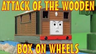 getlinkyoutube.com-TOMICA Thomas & Friends Short 9: Attack of the Wooden Box on Wheels