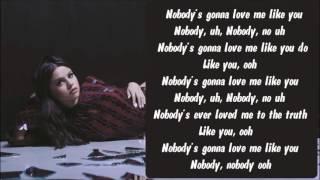 getlinkyoutube.com-Selena Gomez - Nobody Karaoke / Instrumental with lyrics on screen