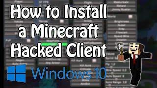 getlinkyoutube.com-Minecraft 1.8 - 1.8.9 : How to Install a Hacked Client (Windows 10)