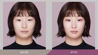 getlinkyoutube.com-Natural monolid eyemakeup using only eyeshadow - 섀도만 활용한 내추럴 무쌍 메이크업
