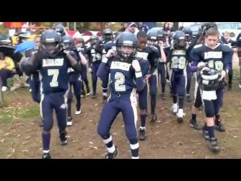 Kernersville Raiders Greatest Plays, Pop Warner Superbowl Football in Disney