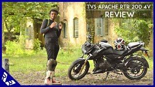 getlinkyoutube.com-TVS Apache RTR 200 4V Review   Full video   RWR