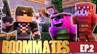 "Minecraft ROOMMATES! ""The Clucking Dead"" S3 #2 (Minecraft Roleplay Show)"