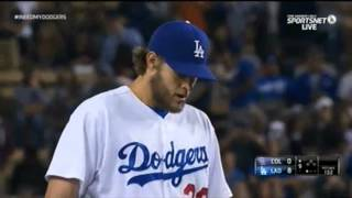 getlinkyoutube.com-Kershaw's No Hitter Dodgers vs. Rockies 6-18-14