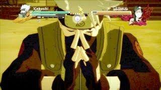 getlinkyoutube.com-Naruto Shippuden : Ultimate Ninja Storm 3 - Might Guy Vs. Seven Ninja Swordsmen & Kakashi Vs. Zabuza (720p HD)