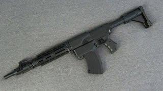 getlinkyoutube.com-[MOD] Nerf M4 Carbine Replica [Nerf Retaliator Modification]